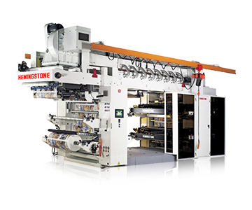 Super High-speed Stack Type Flexo Printing Machine With Doctor Blade Chamber System (4 Color)