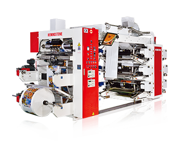 Stack Type Flexo Printing Machine with Doctor Blade Chamber System