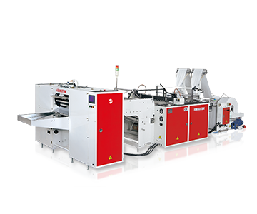 High Speed Fully Automatic Bottom Sealing Machine for coreless Bags on Rolls with Photo Cell