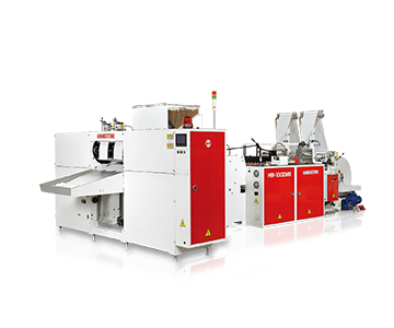 High Speed Bottom Sealing Machine for Bag-on-roll with or without Core With Photo Cell