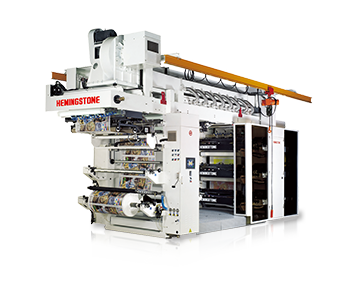 Super High-speed Stack Type Flexo Printing Machine With Doctor Blade Chamber System (6 Color)